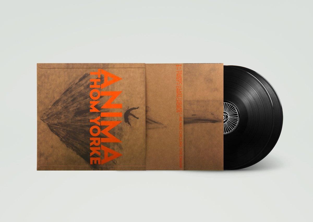 187 Thom Yorke Anima Limited Vinyl